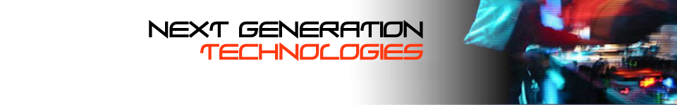 Next Generation Technologies